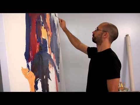 Palette Knife | ART TERMS IN ACTION