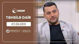 Təhsilə dair 07 06 2021