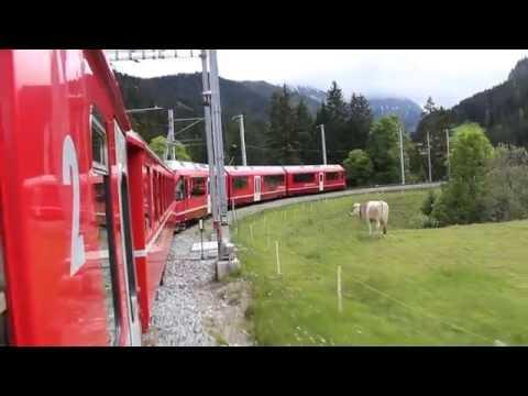 Chur to Arosa by train