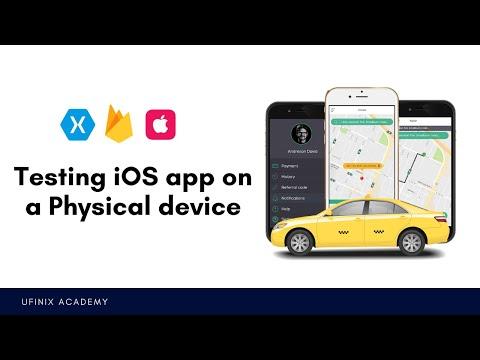 Testing Your IOS App On A Physical Device - Xamarin.iOS Uber Clone App