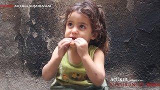 AÇLIKLA KUŞATILANLAR -1- Abluka Altındaki Doğu Ğûta'da 6 Çocuklu Bir Âilenin Yaşadıkları