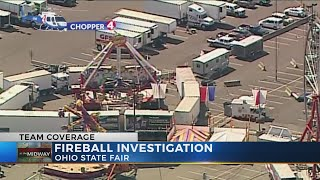 The manufacturer of a ride that malfunctioned at the Ohio State Fai...