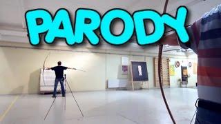 Lars Andersen: a new level of archery (PARODY)