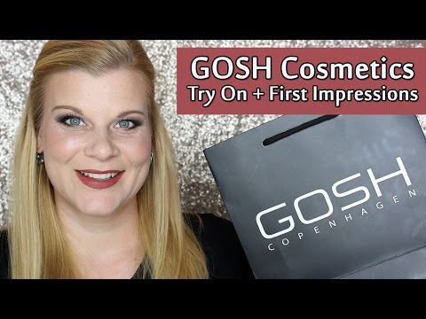 GOSH New Core Products First Impressions | Makeup Your Mind