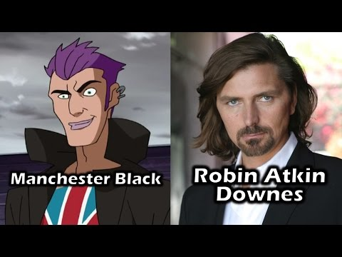 Characters and Voice Actors - Superman Vs. The Elite