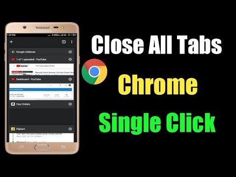 Close All Tabs On Google Chrome With A Single Click
