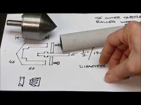 How to make a simple lathe pipe center - easy project