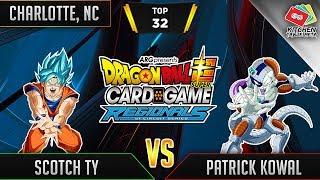 Dragon Ball Super Card Game Gameplay [DBS TCG] Charlotte Regional Top 32