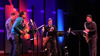 "PRISM Quartet and Rudresh Mahanthappa: ""I Will Not Apologize For My Tone Tonight"""