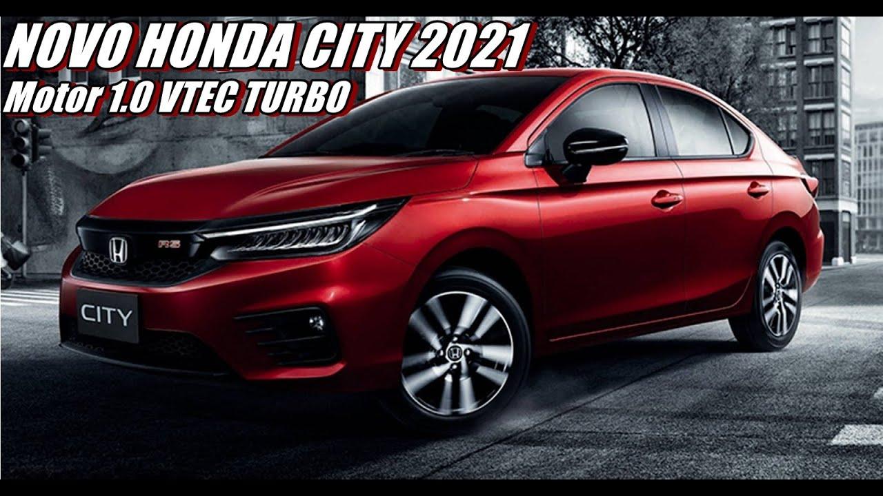 novo honda city 2021 10 turbo de 122 cv  youtube