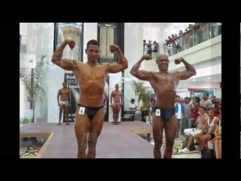 Body Builder Competition at Timor Plaza - East Timor