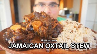 How to cook JAMAICAN OXTAIL STEW