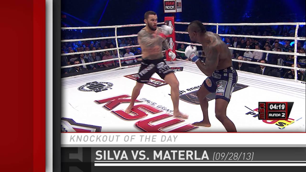 Knockout of the Day: Jay Silva stops Michal Materla at KSW 24 from Sept. 28, 2013.