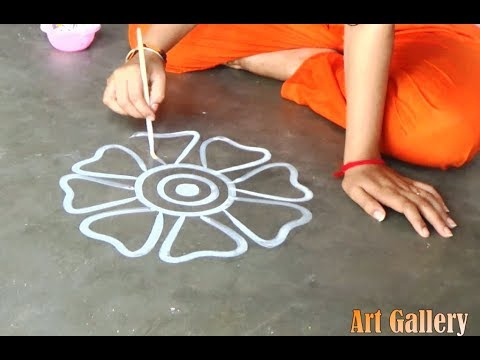 My Creative Big Multicolour Rangoli Designs For All/Innovative Designs