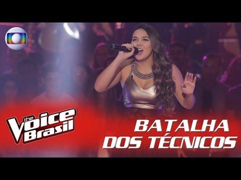 Anna canta 'Something's Got a Hold on Me' na Batalha dos Técnicos – 'The Voice Brasil'
