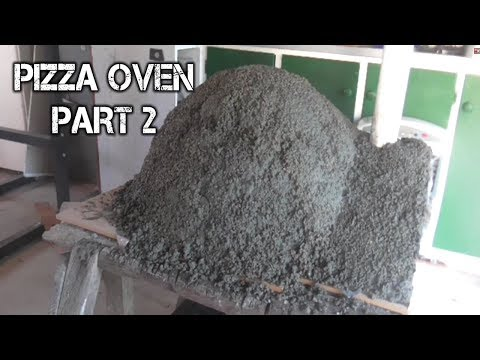 Outdoor Wood Fire Pizza Oven Build Part 2