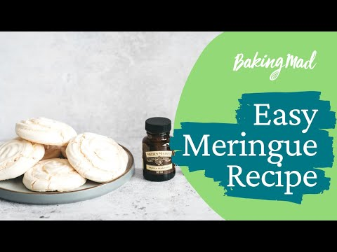 How to make meringue with golden caster sugar