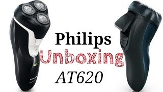 Philips AT620 Trimmer, Shaver, Unboxing in Hindi.