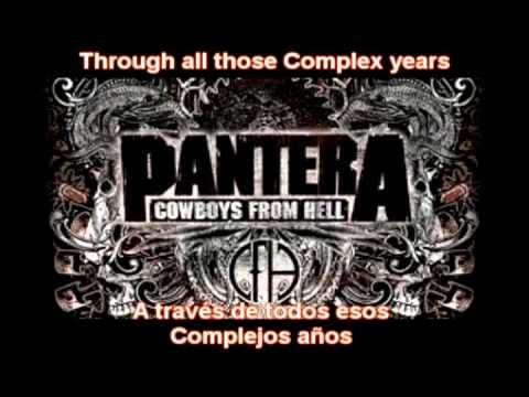 Pantera Cemetery Gates Lyrics- Sub. Español