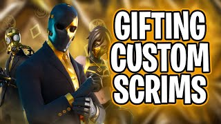🔴 *gifting*  Na-east  Custom Scrims! Duos,squads! Fortnite Live| Ps4,xbox,pc,switch,mobile