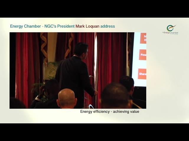 NGC President, Mark Loquan's Feature Address at TT Energy Chamber (Part 05 of 06)