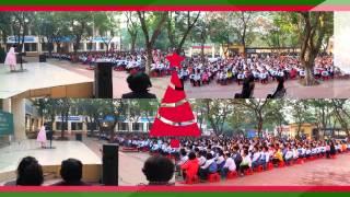 Trường Tiểu học Phú Thượng biểu diễn Organ Tổ quốc ở Trường Sa