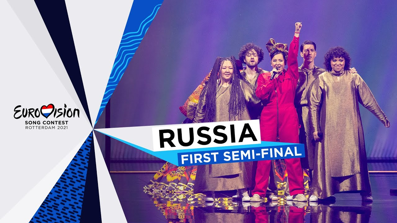 Manizha  Russian Woman  LIVE  Russia   First SemiFinal  Eurovision 2021