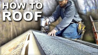 How to Roof a Shed | Every Step!