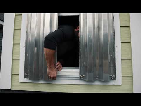 Interior Windows- Hurricane Panels Installation Tutorial
