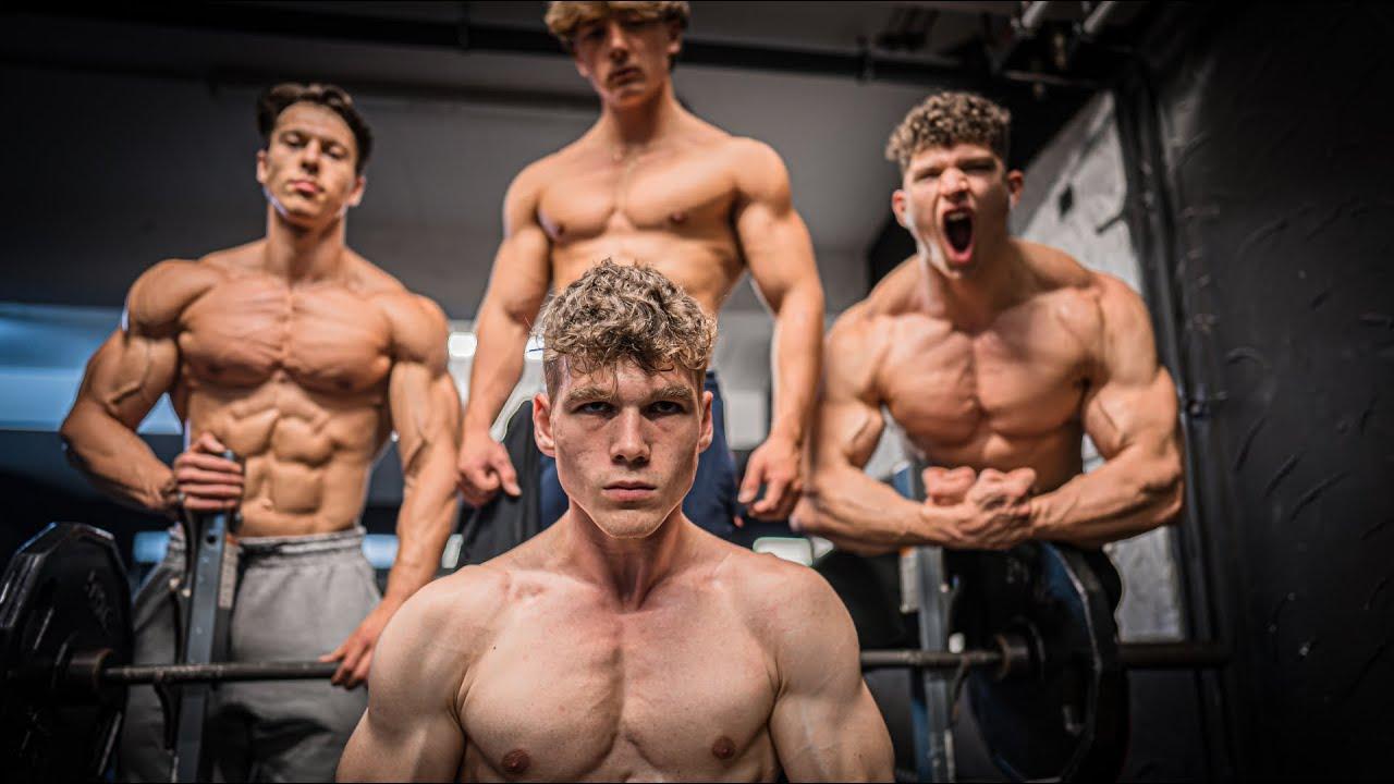 Bankdrücken mit eigenem Körpergewicht!💪 Wer ist der Stärkste im #teamrocka