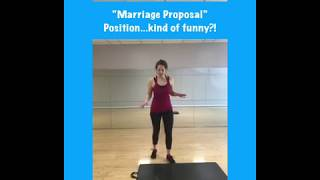 """Marriage Proposal"" Strengthening and Mobility Exercise"