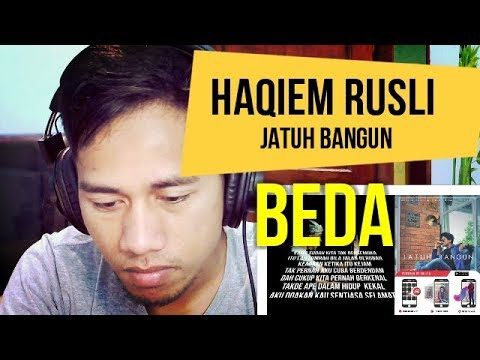 HAQIEM RUSLI #JATUH BANGUN - INDONESIAN REACT TO MALAYSIA SONG #37