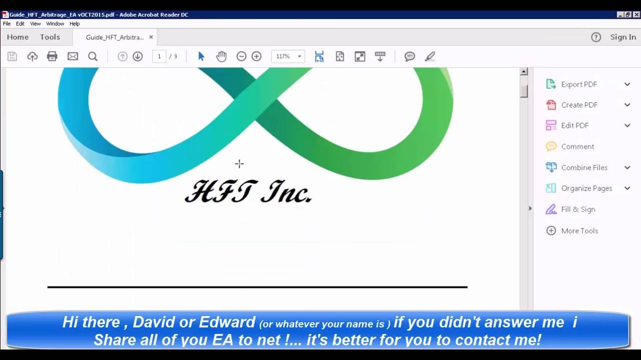 HFT Arbitrage EA - YouTube