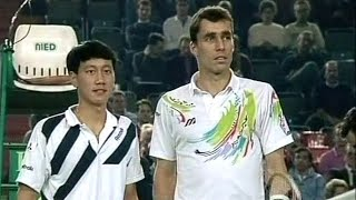 Unforgiving Battles: Ivan Lendl vs. Michael Chang