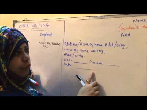 English How To Easily Write A Letter Writing Skills 1 YouTube