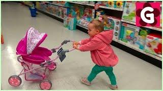 Gaby Doing Shopping and having fun at ToysRus