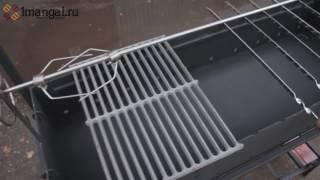 Профессиональный мангал для дачи с крышей ММ18МН(, 2017-03-04T13:39:45.000Z)
