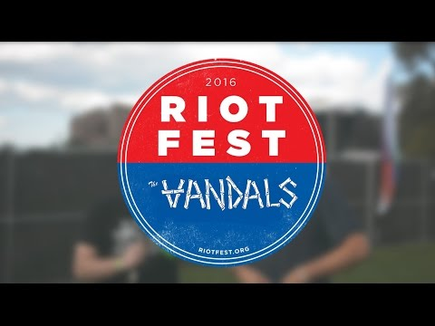 The Vandals Interviewed by WWJ Riot Fest Chicago 2016