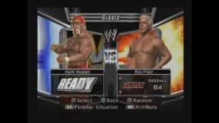WWE Smackdown vs Raw 2006 gameplay (ps2)