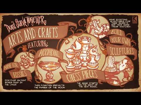 Don't Starve Together - Arts And Crafts - (A New Reign DLC)