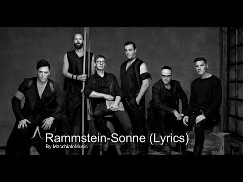 Rammstein-Sonne (Lyrics video)