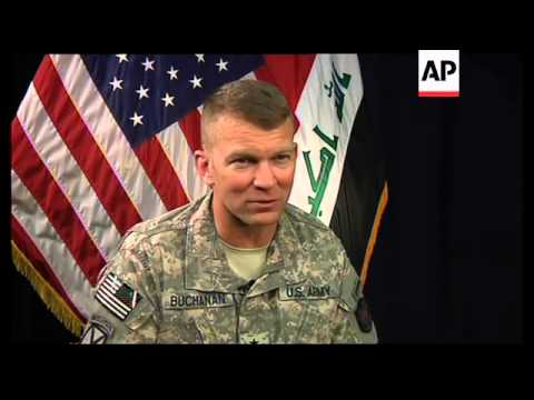 Chief spokesman for US forces in Iraq says security risks remain high