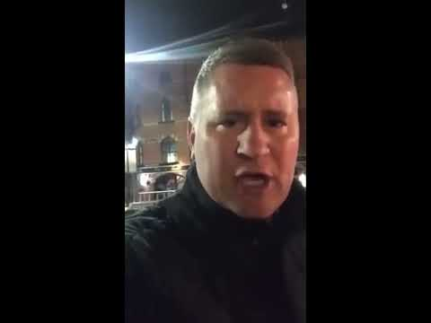 Britain First Leader Paul Golding Charged and Released