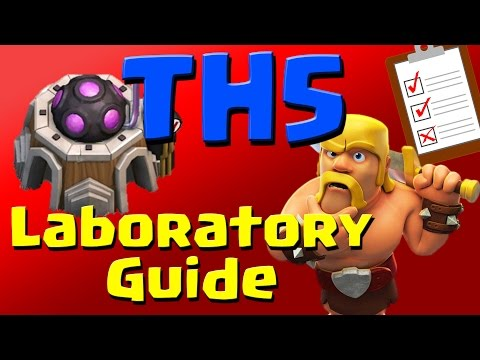 Clash of Clans: TH5 Laboratory Research Guide (August 2016) ULTIMATE!!!