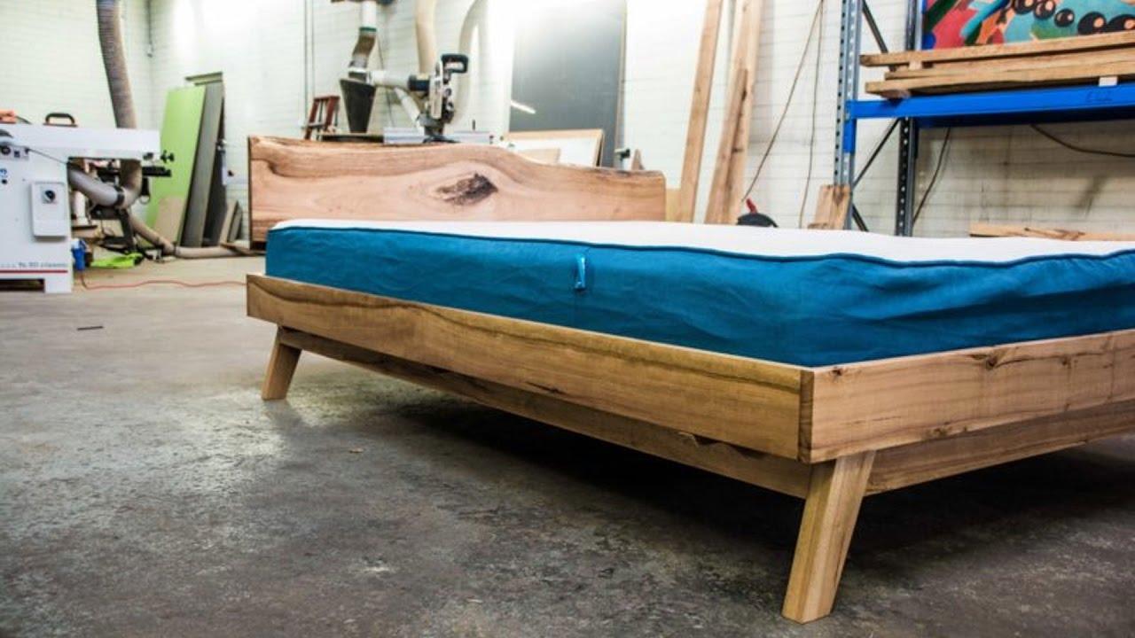Amazing Platform Bed Build - YouTube