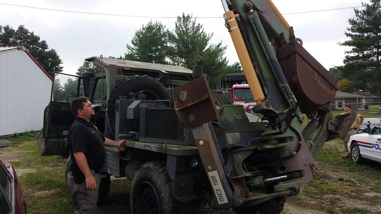 1989 Frieghtliner Backhoe Truck - govdeals com