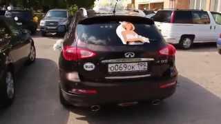 990 руб Живая наклейка Привет наклейка на стекло авто Свадебное авто Наро-Фоминск