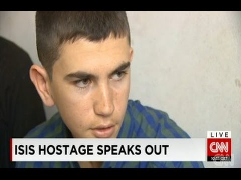 Young Ex-ISIS Hostage: 'They Are Right'