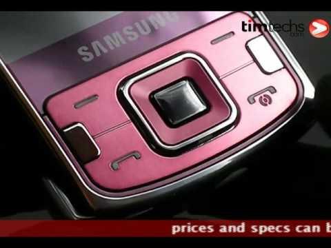 Samsung i8510 Innov8 Wine Red edition video sneak peak