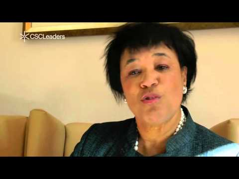 CSCLeaders 2015: Patricia Scotland, Baroness Scotland of Asthal